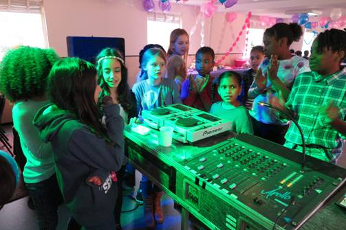 Dj Workshop Kinderfeestje